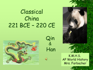 2 AP Classical China [Qin