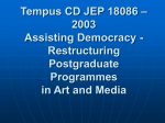 Tempus CD JEP 18086 – 2003 Assisting Democracy