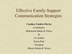 Effective Family Support Communication Strategies