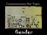 Communication Hot Topic: