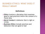 ITS_11_Business Ethics and Multicultural Communication
