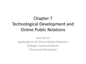Chapter 7 Technological Development and Online Public