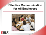 Effective Communication for Employees