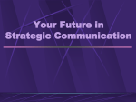 Future in Strategic Communication - School of Journalism and Mass