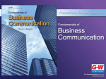 Chapter 1 - Professional Communications