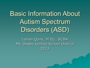 Downloadable pp - Autism Task Force
