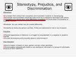 Stereotypy, Prejudice, and Discrimination chapter 7 com 4160