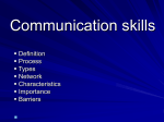 Technical Communication An Overview