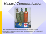 hazard warnings