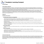 Academic Learning Compact Communication