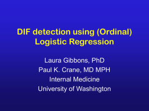 DIF detection using OLR - University of California, Davis