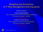 Modelling and Economics of IT Risk Management and