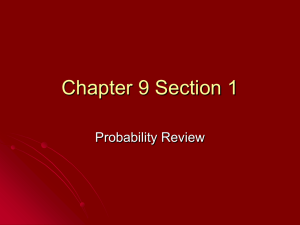 Chapter 9 Section 1