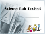 Science Fair Project - School District 308