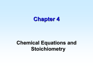 Chapter 4 - UCF Chemistry