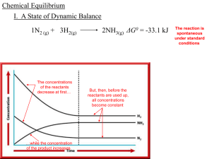 Chemical Equilibrium - local.brookings.k12.sd.us