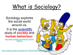 What is Sociology?: Revision Session