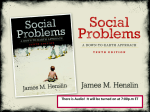 Conflict Theory & Social Problems