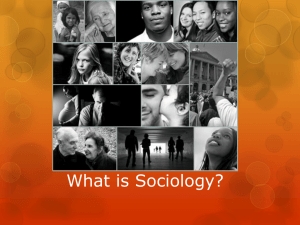 What is Sociology Powerpoint