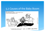 5.2 Causes of the baby boom
