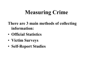 Official Crime Statistics ohps File