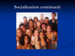 socialization - Cobb Learning