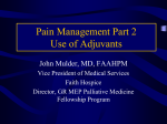 A Practical Approach to Cancer Pain Management