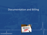 Documentation and Billing