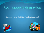 Volunteer Orientation - the School District of Palm Beach County