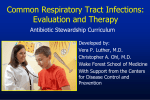 Common Respiratory Tract Infections