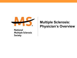 Physicians - National Multiple Sclerosis Society