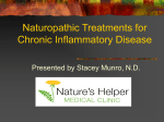 Naturopathic Treatments for Inflammatory Disease