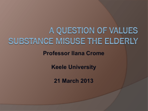 Assessment of substance use in older people