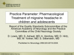 Practice Parameter: Treatment of Postherpetic Neuralgia