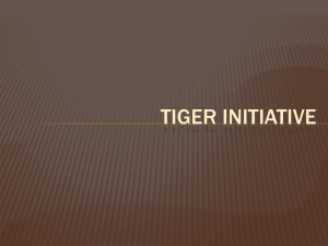 TigER INITIATIVE - Shawn Kise BSN, RN