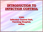 EXPERINCE IN IMPLEMENTING INFECTION CONTROL