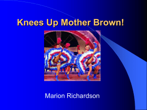 Knees Up Mother Brown