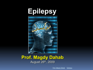 Module 1 - Introduction to Epilepsy Basic Principles
