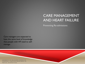Care management and Heart Failure