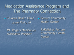 Medication Assistance Program