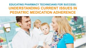 slides - American Association of Pharmacy Technicians
