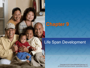 Chapter 9: Life Span Development