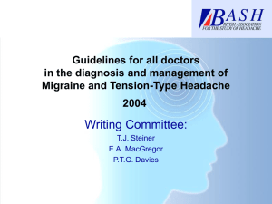 Guidelines for all doctors in the diagnosis and management of