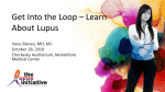 in English - The Lupus Initiative