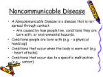 Noncommunicable Disease