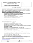Patient Provider Partnership Agreement