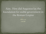 Aim: How did geography shape the development of Rome?