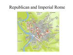 Republican and Imperial Rome