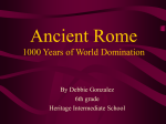 Ancient Rome 1000 Years of World Domination - Etiwanda E