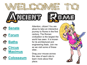Virtual Field Trip of Rome